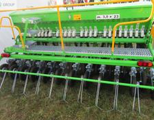 BOMET Universalsähmaschine 3 m/Seed drill w/ double disc coulters/ Механическая сеялка 3 м