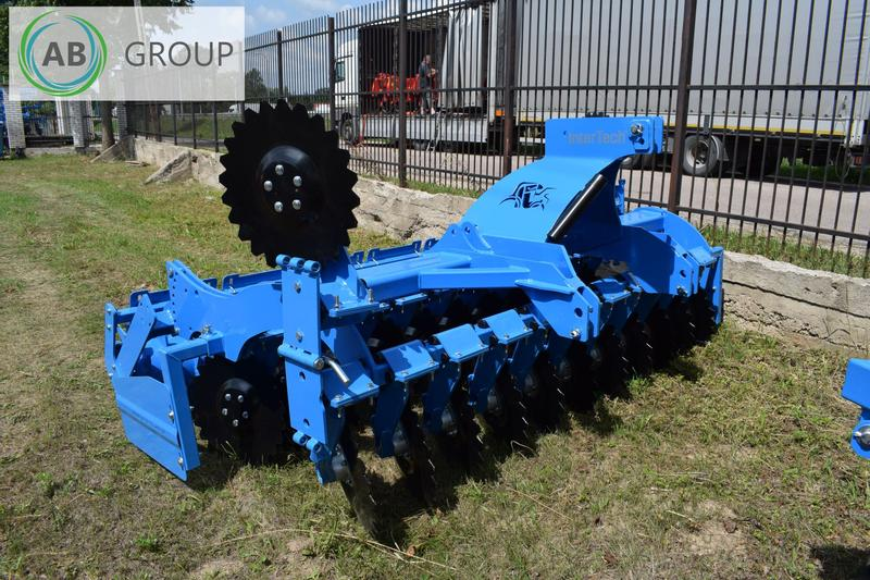 Inter-Tech Scheibenegge 3m/Disc harrow/Dechaumeur a disques