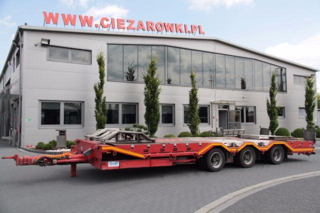 Other 3 AXLE TRAILER LOW LOADER ROYEN VERY LOW 57 CM!