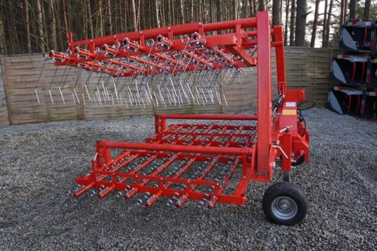 Jar-Met Brona chwastownik 6 m (4×1,5 m); Weeder harrow Grapa cu gheare