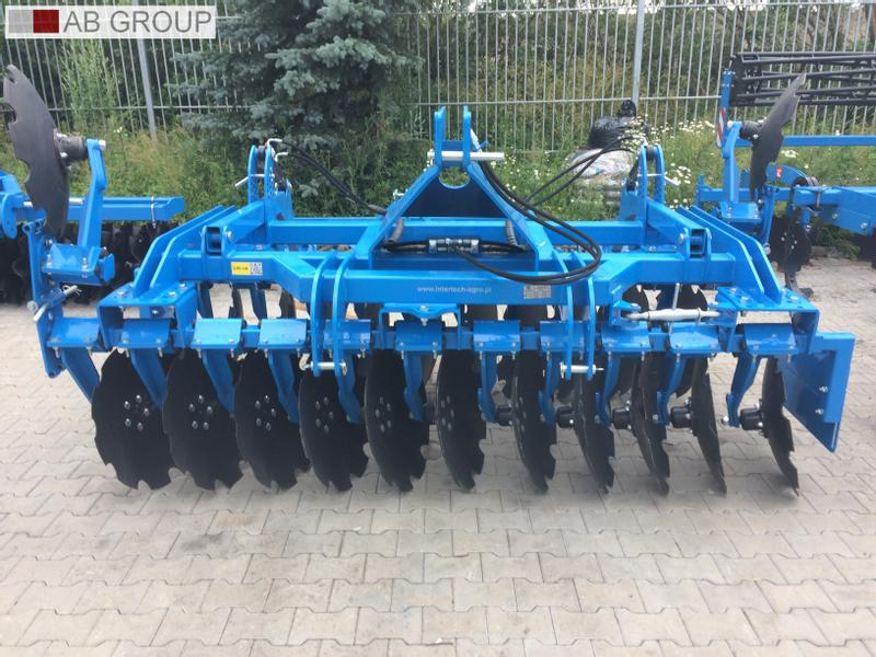 Inter-Tech Scheibenegge 3m /Heavy Disc harrow 3 m/Grada rápida pesada