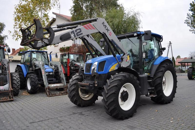 New Holland T6050 Plus + MAILLEUX MX T12 **Nettopreis**
