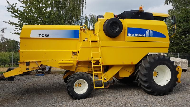 New Holland TC 56 Hydro RS...CS CSX CX CR TX