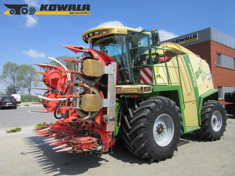 Krone Big X 500 mit Kemper 360 Plus