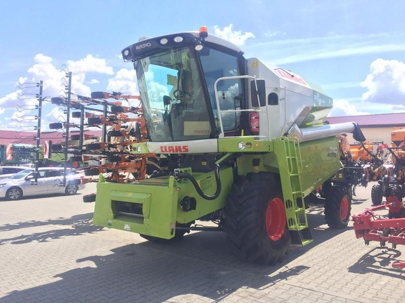 Claas AVERO 240 2017 NEW! + HEDER + TABLE FOR RAPE