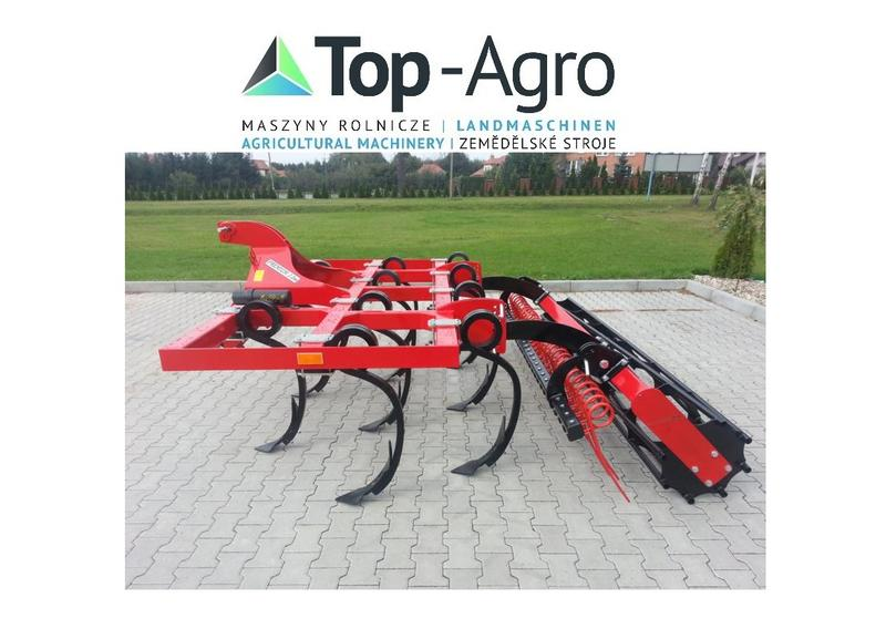Agro-Factory TOP-AGRO BEST Produkt Flügelschargrubber PREMIUM Sehr ROBUST NEUE MODEL 2,2m-4,7m