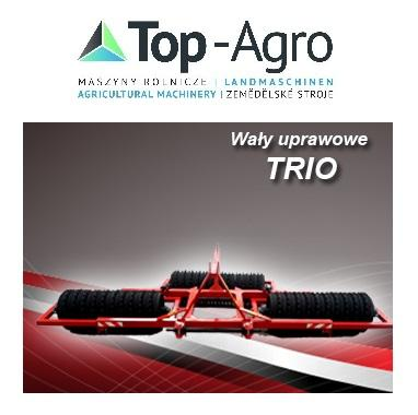 Agro-Factory TOP-AGRO BEST Produkt Ackerwalze 3,0m  3,4m  cambridge TRIO 450 - 500- 530mm