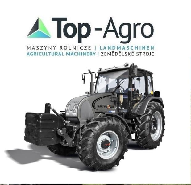 TOP-AGRO Farmtrac 7100DT 101PS PERKINS CARRARO POWERSHIFT