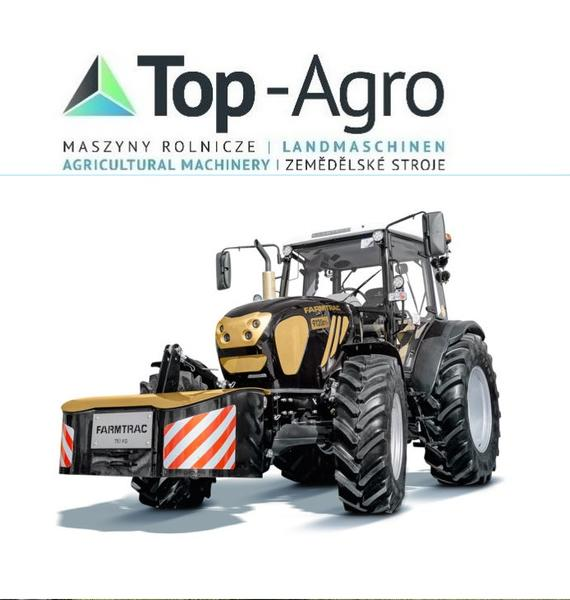TOP-AGRO Farmtrac 9120DTn PERKINS CARRARO 113PS
