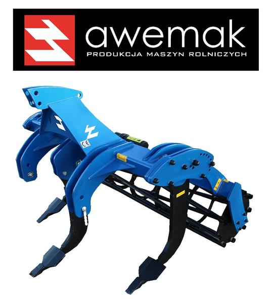 Awemak Subsoiler with 5 pcs of STRAIGHT tines