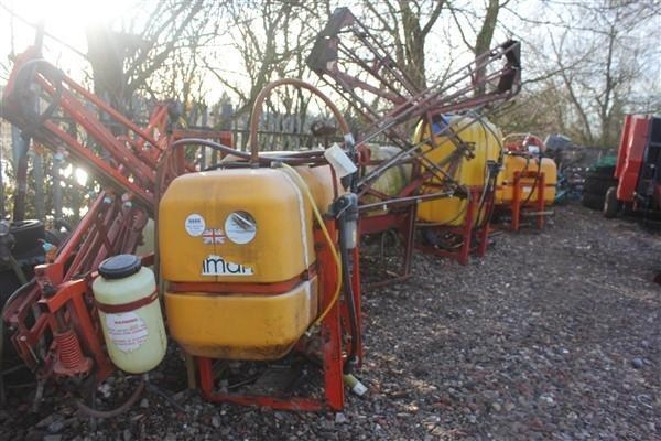 SELECTION OF CROP SPRAYERS