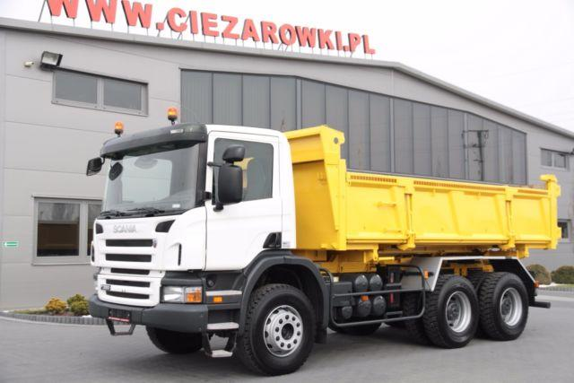 Scania 2 SIDED TIPPER P380 6x4