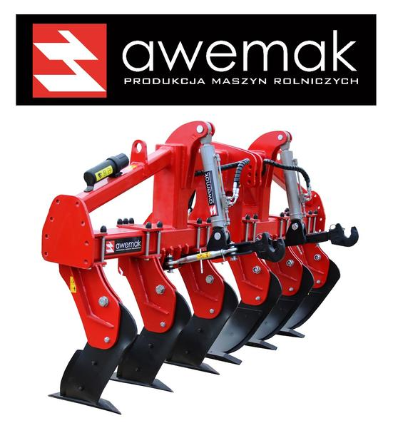 Awemak MAMUT GB40.8 Single-beam Subsoiler: