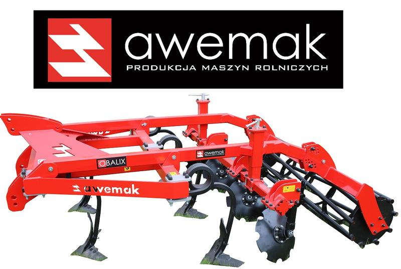 Awemak Stubble cultivator with spring tines HIGH QUALITY BEST PRICE