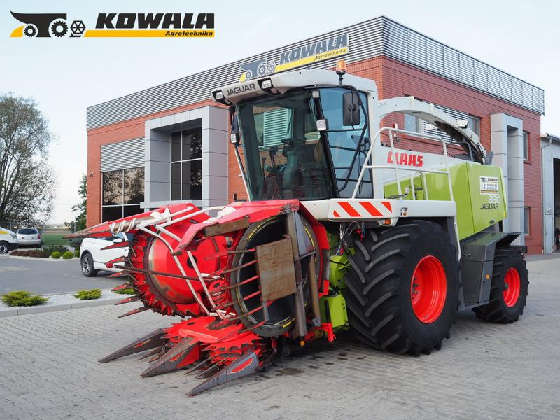 Claas Jaguar 830 (428 PS) + Kemper 445