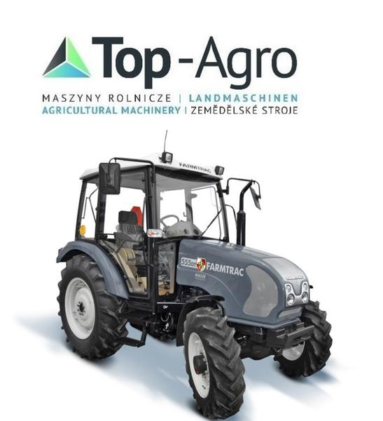 TOP-AGRO FARMTRAC 555DT 48PS CARRARO