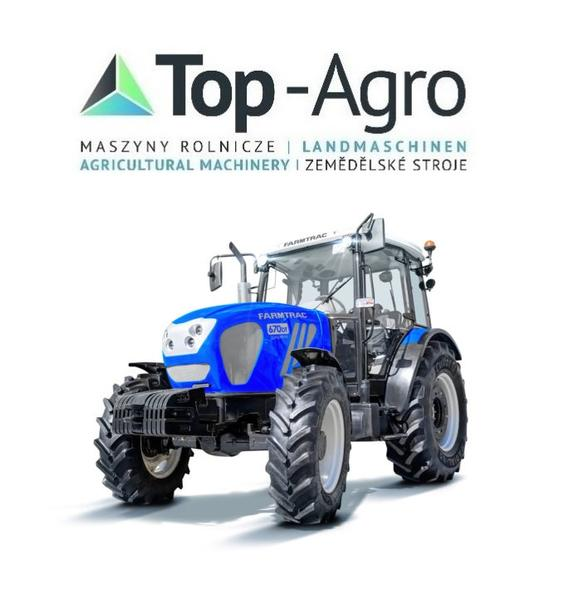 TOP-AGRO  FARMTRAC 670DT 61PS PERKINS CARRARO