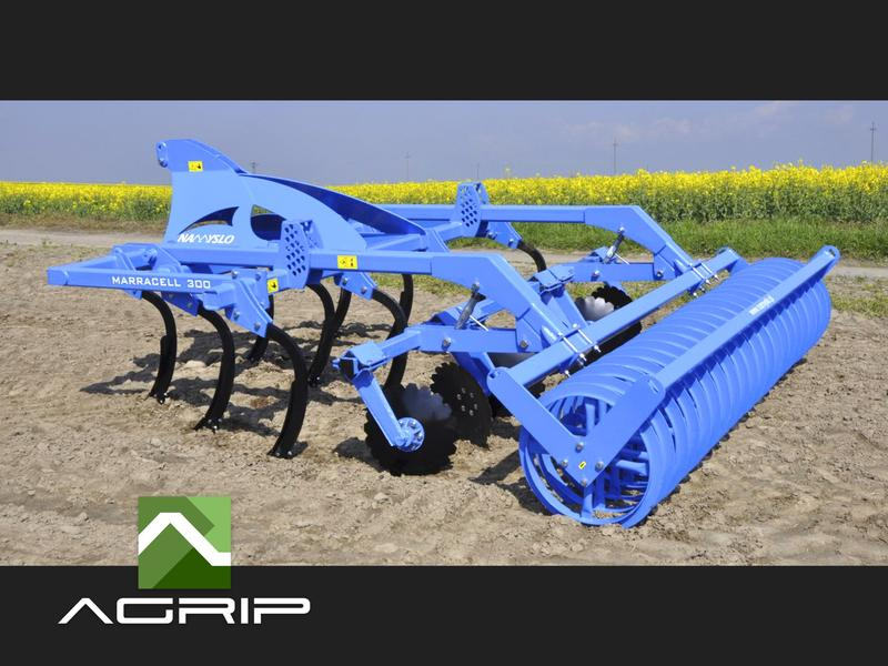 Cultivator BESTSELLER Stubble cultivator Marracell 350 HBolt protection