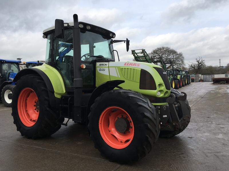 Claas Arion 640 Tractor (ST4121)