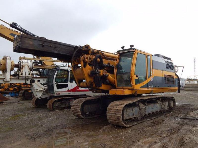 HYDRAULIC PILING RIG RTG RG19T + VIBROHAMMER