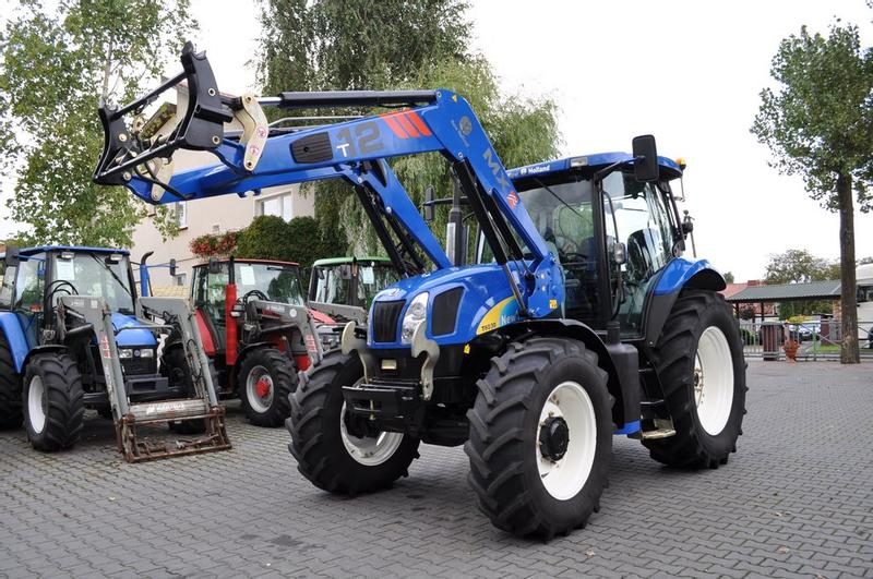 New Holland T6030 Plus + MAILLEUX MX T12 **Nettopreis**