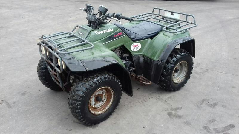 Kawasaki KLF300 ATV for sale