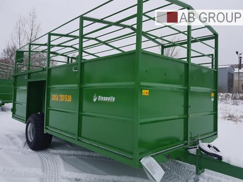 Dinapolis Viehwagen RV 510 5t 5.1m / animal trailer