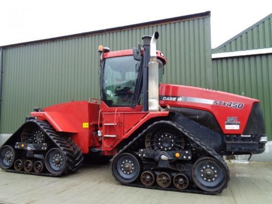 Case Used  Quadtrac STX 450