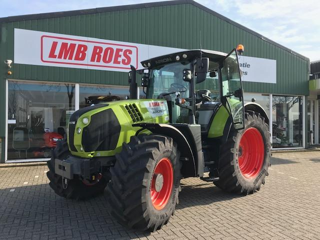 Claas Arion 660 CIS + tractor 205 pk Cmatic