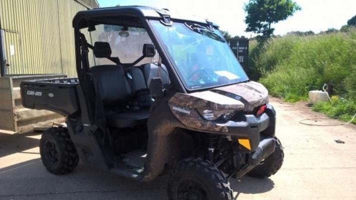 CAN-AM HD8 STANDARD – UTV