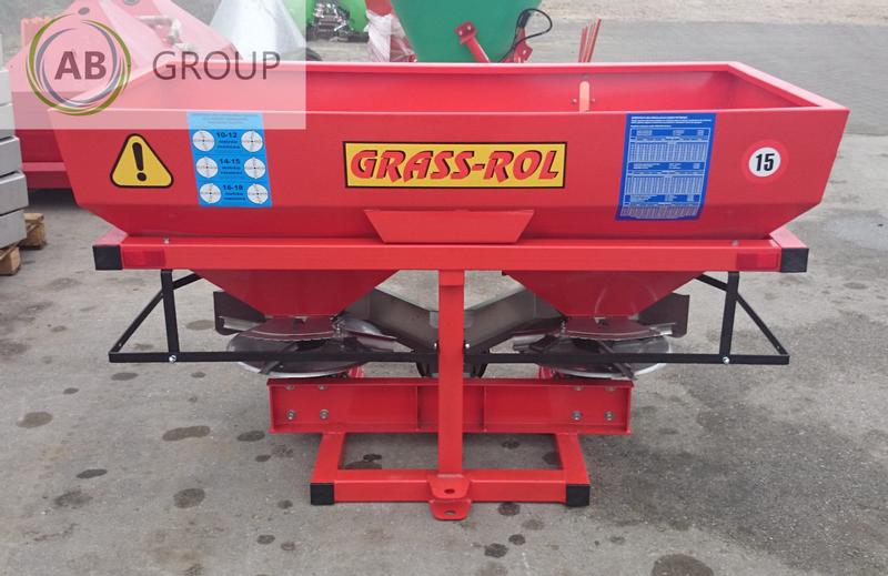 Grass-rol  Fertilizer spreader 800l/Dungerstreuer /Abonadora