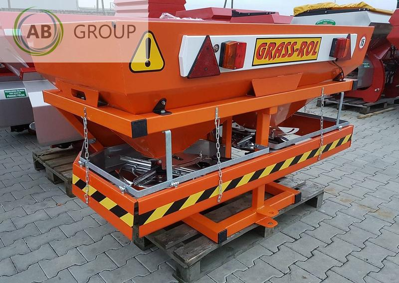 Grass-Rol Salt and sand spreader 1000l/Salzstreuer /Gritter