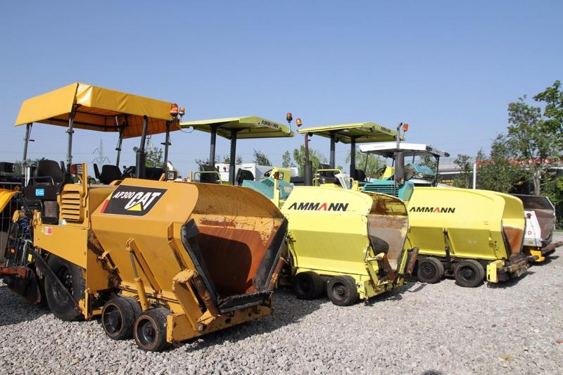 CAT ASPHALT PAVER MANY MODELS, MANY UNITS!