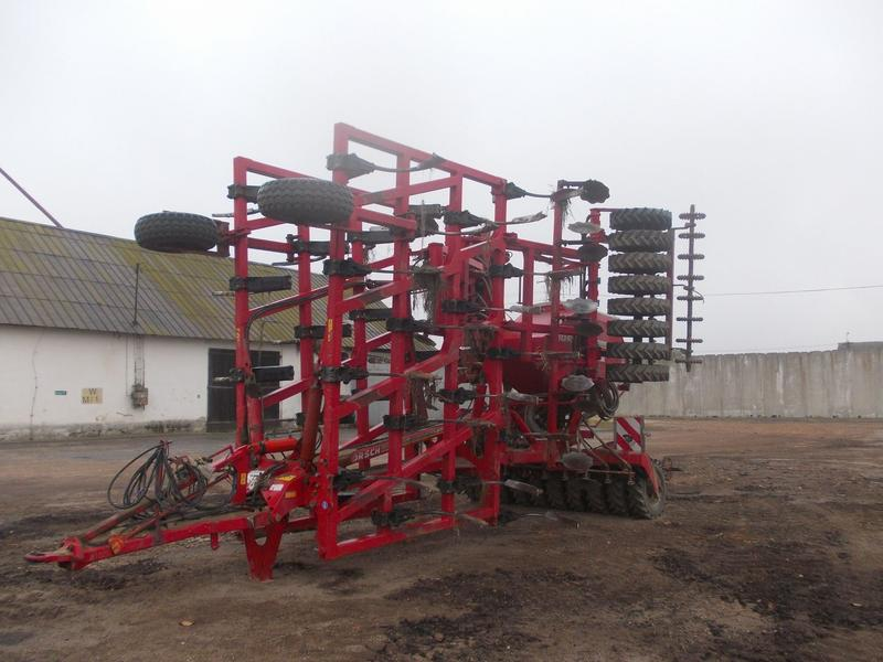 Horsch Tiger 8AS + duodrill
