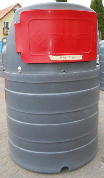 SWIMER Diesel-Tank/ Double walled tank/ Zbiornik 1500 l