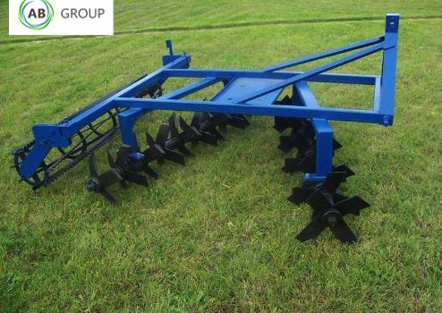 Rolmet Kreiselegge/Knife harrow/Борона/Grada de/Brona nożowa 1,7m