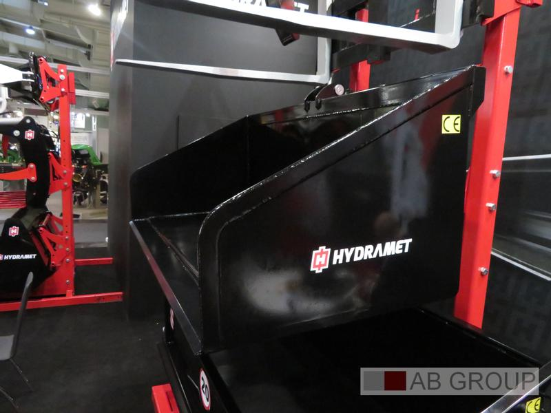 Hydramet  Loading case had/Caisse hyd./Ladekiste hyd.