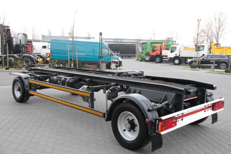 inne ROLL OFF CONTAINER CHASSIS TRAILER ROBERTZ AWL