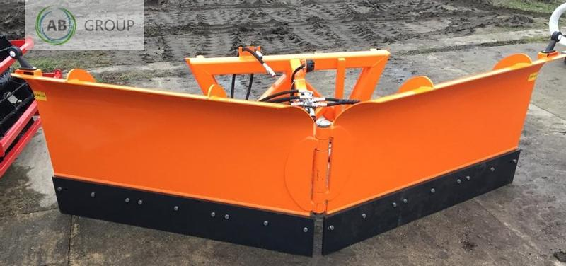 INTER-TECH Hydraulischer Pflug  3m/Hydraulic snow plough 3m/Гидравличес