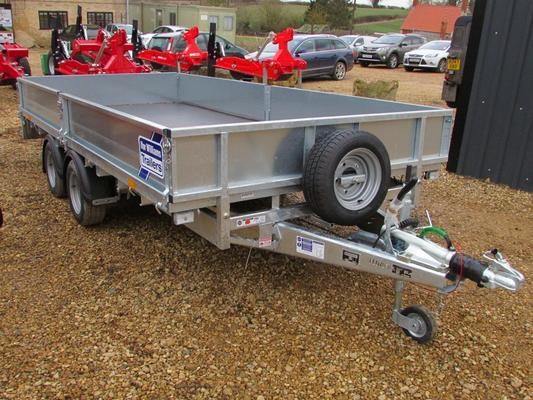 Ifor Williams  TRAILER LM146, 14ft Twin Axle