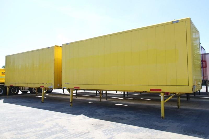 BODY BDF CONTAINER BOX CLOTHES CARRYING KRONE WK