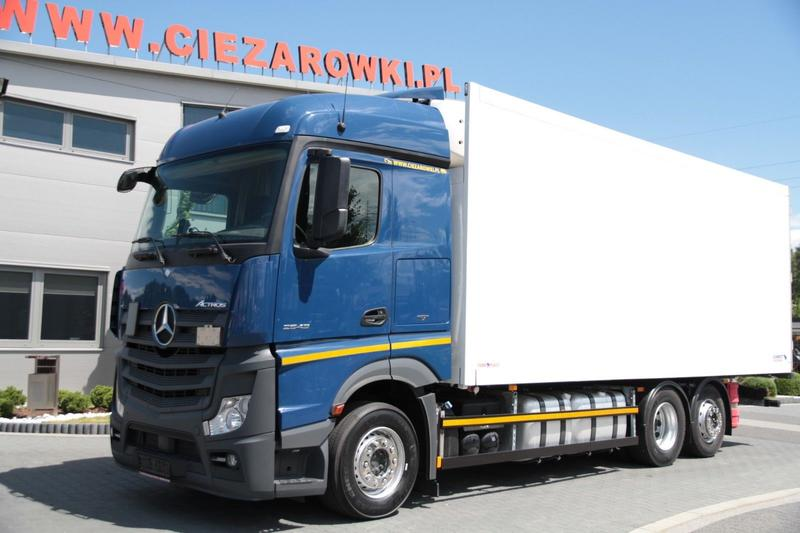 Mercedes-Benz 6x2 E6 ACTROS 2543 L  MEGA LOW DECK 2.7 M