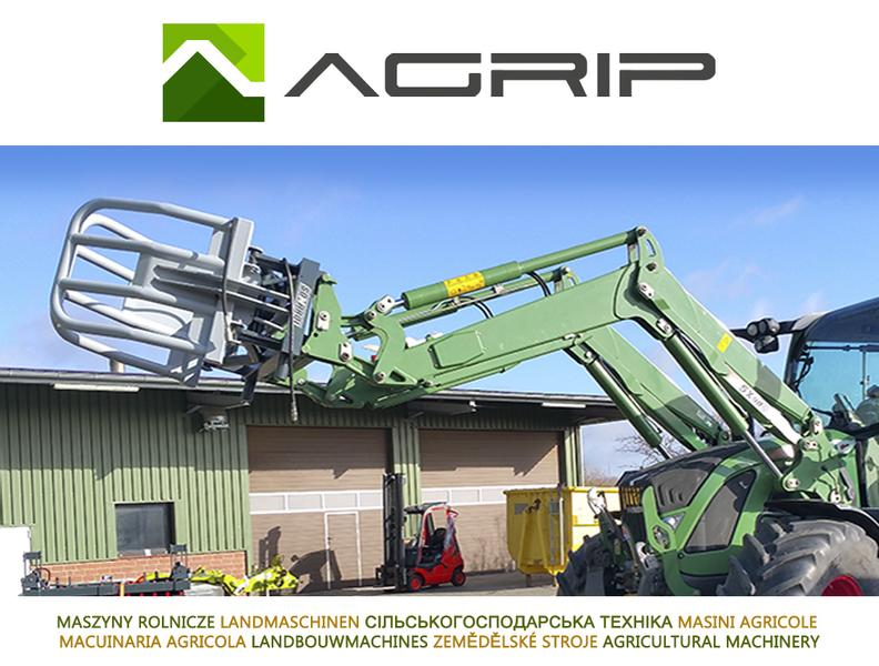 TOP !! AGRIP Agro Ballenzange Ballengreifer 1700 mm Euro MX Faucheux
