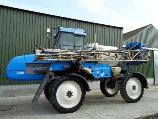 Used Hardi Alpha 3000 24M Self-Propelled Sprayer
