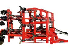 AWEMAK MATADOR M 60 - Universal semi-mounted hydraulic cultivator with transport KIT! Spring protection!