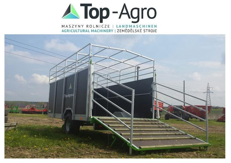 Top-Agro BEST QUALITY KURIER-6  AKTION Viehtransportanhänger CYNKOMET Viehwagen