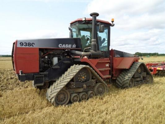 Case Used  Quadtrac 9380 For Breaking