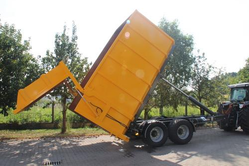 KG-AGRAR Abrollcontainer Silagecontainer Trocknungscontainer Halfpipe