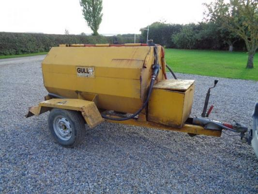 inne Used 1000 Litre Fuel Bowser C/w Honda Engine