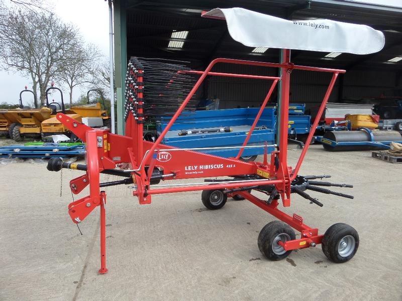 Lely HIBISCUS 455S SINGLE ROTOR RAKE